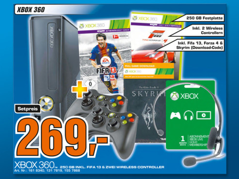 Xbox 360 Set ©Saturn