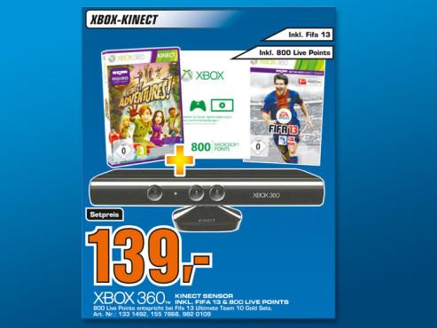 Xbox-360-Zubehör ©Saturn