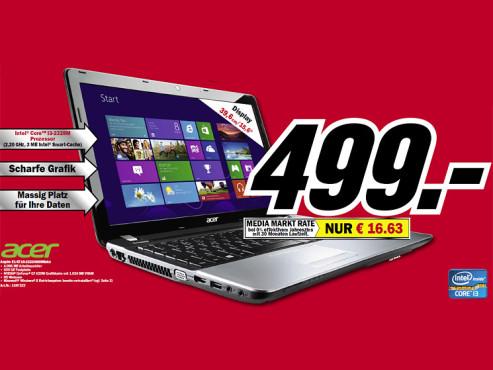 Acer Aspire E1-571G-32324G50Mnks (NX.M0DEG.001) ©Media Markt