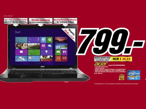 Acer Aspire V3-771G-53218G75Maii ©Media Markt