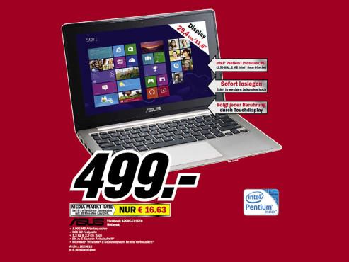 Asus VivoBook S200E-CT157H ©Media Markt