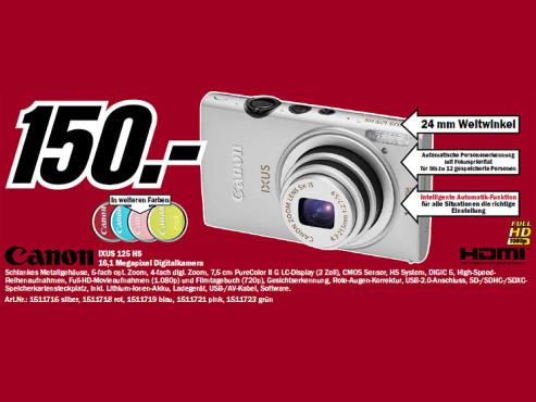 Canon IXUS 125 HS ©Media Markt