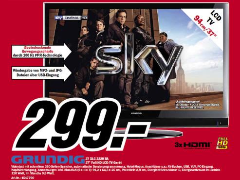Grundig 37 XLC 3220 BA ©Media Markt