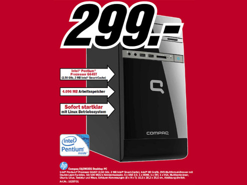 HP Compaq CQ2903EG ©Media Markt
