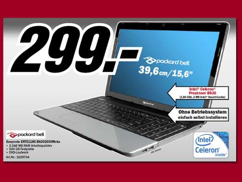 Packard Bell ENTE11HC-B8302G50Mnks ©Media Markt