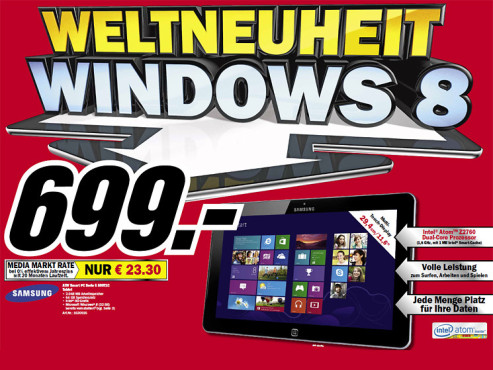 Samsung Ativ Smart PC © Media Markt