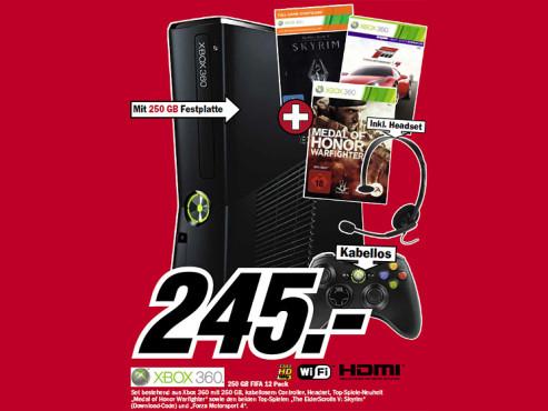 Xbox-360-Set ©Media Markt