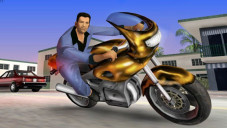 Actionspiel GTA – Vice City: Motorrad © Rockstar Games