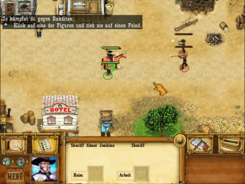 Screenshot Wildwest-Abenteuer Minigame © Intenium