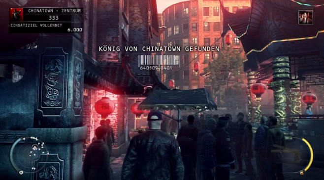 Actionspiel Hitman � Absolution: Marktplatz © IO Interactive