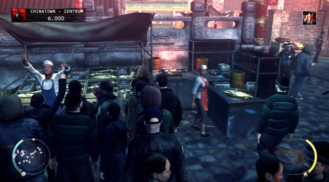 Actionspiel Hitman � Absolution: Verk�uferin © IO Interactive