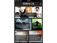 Verivox-App fürs iPhone © Verivox