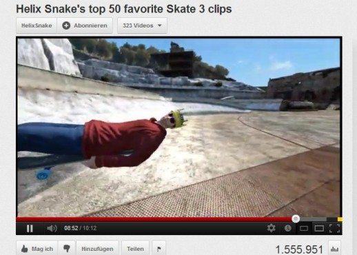 Bugs im Video: Skate 3 © Electronic Arts