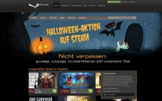 Vertriebsplattform Steam: Halloween © Valve