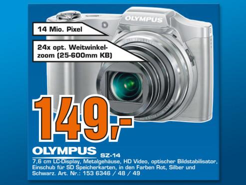 Olympus SZ-14 ©Saturn