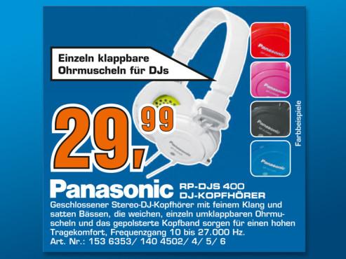 Panasonic RP-DJS400AE ©Saturn