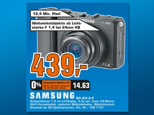Samsung EX2F ©Saturn