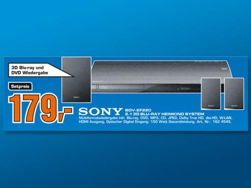 Sony BDV-EF220 ©Saturn