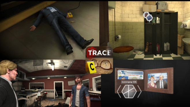 The Trace – das Krimiabenteuer © Relentless Software