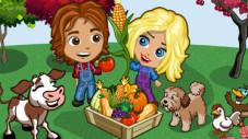 Onlinespiel Farmville: Bauer und Frau ©Zynga