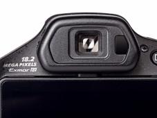 Sucher Sony Cyber-shot DSC-HX200V ©COMPUTER BILD