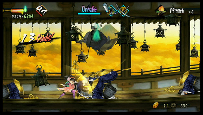 Actionspiel Muramasa – The Demon Blade © Rising Star Games