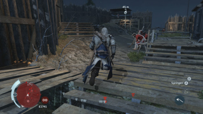 Actionspiel Assassin's Creed 3: Tour © Ubisoft