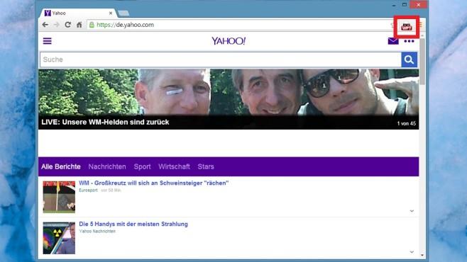 User-Agent Switcher für Chrome: Mobilversion von Webseiten laden ©COMPUTER BILD