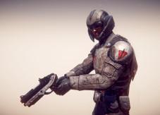 Online-Actionspiel Planetside 2: Soldat ©Sony