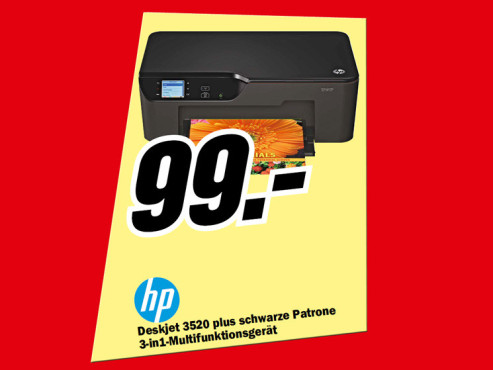 Hewlett-Packard HP Deskjet 3520 e-All-in-One © Media Markt