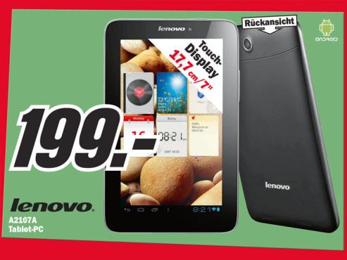 Lenovo IdeaTab A2107A ©Media Markt