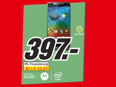 Motorola RAZR i ©Media Markt