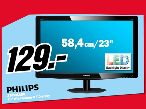 Philips 236V3LAB6 © Media Markt