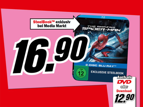 The Amazing Spider-Man © Media Markt