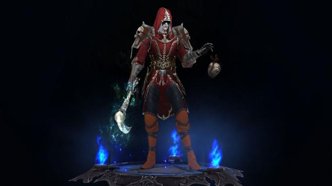"""Diablo 3: So spielt sich der Totenbeschwörer! Unverändert: Der Totenbeschwörer ist auch in """"Diablo 3"""" noch immer ein halbes Hemd mit weißer Haut. Er macht allerdings auch genau so viel Spaß wie früher! ©Blizzard"""
