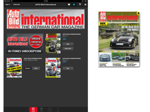 AUTO BILD International © Axel Springer AG