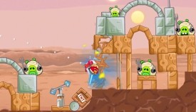 Screenshot 1 - Angry Birds Star Wars