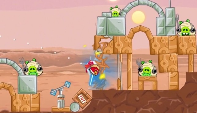 Screenshot 1 - Angry Birds Star Wars