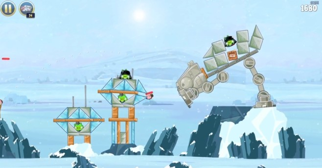 Screenshot 2 - Angry Birds Star Wars