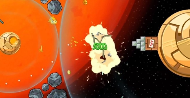 Screenshot 4 - Angry Birds Star Wars