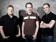 InnoGames-Gr&uuml;nder Michael Zillmer, Hendrik und Eike Klindworth&nbsp;&copy;&nbsp;InnoGames