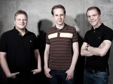 InnoGames-Gr�nder Michael Zillmer, Hendrik und Eike Klindworth ©InnoGames