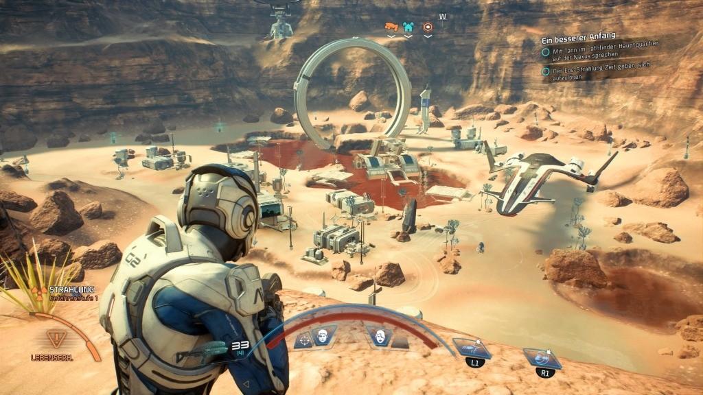 Mass Effect – Andromeda ©EA