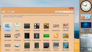 Windows 8 optimieren: Die besten kostenlosen Programme Das 8GadgetPack rüstet die Gadget-Unterstützung nach. ©COMPUTER BILD