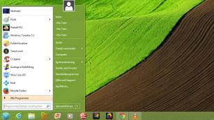 Windows 8 optimieren: Die besten kostenlosen Programme Mit Classic Shell erhalten Sie ein übersichtliches Startmenü inklusive Suchfunktion. ©COMPUTER BILD