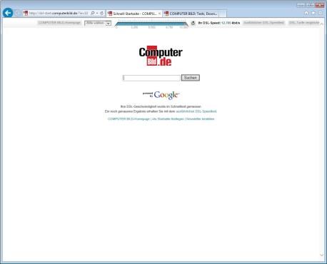 Screenshot 2 - Internet Explorer 10 (Windows 7, 32 Bit)