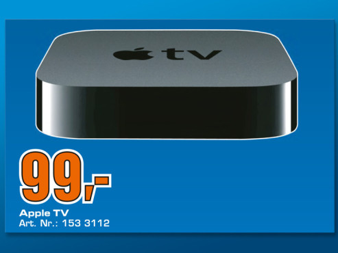 Apple TV (Dritte Generation) © Saturn