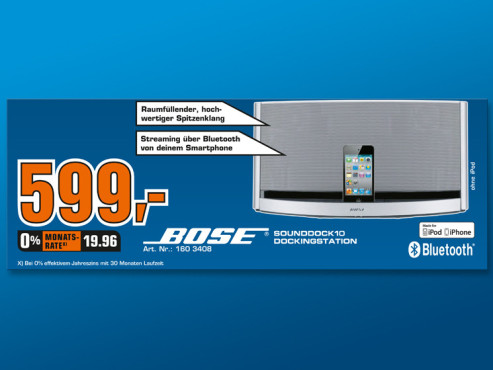 Bose SoundDock 10 © Saturn