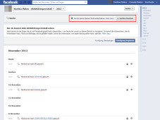 Such-Verlauf bei Facebook löschen ©COMPUTER BILD