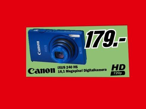 Canon IXUS 240 HS ©Media Markt
